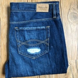 Abercrombie and Fitch straight-leg jeans